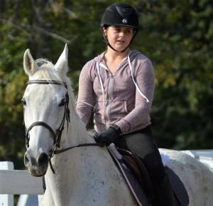 rescue horse Daisy