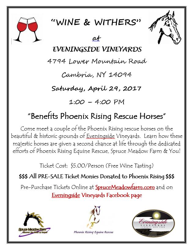 rescue horse event