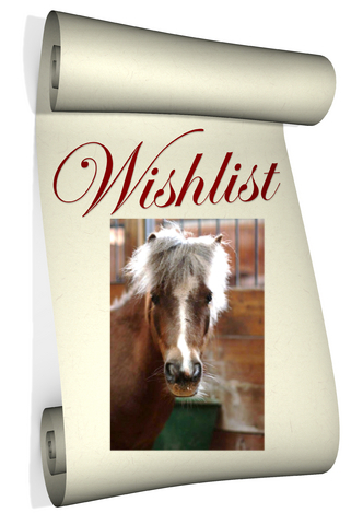 horse shelter wish list